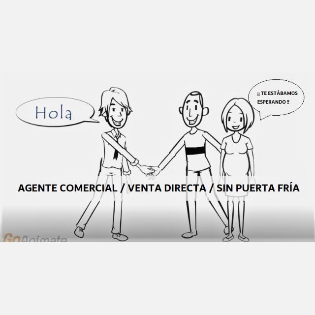 AGENTE COMERCIAL / VENTA DIRECTA / SIN PUERTA FRÍA