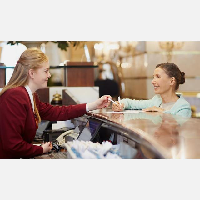 Recepcionista de Hotel