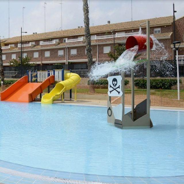 Personal de mantenimiento de piscinas
