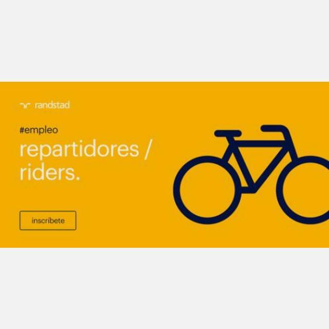 REPARTIDORES RIDERS MADRID CENTRO