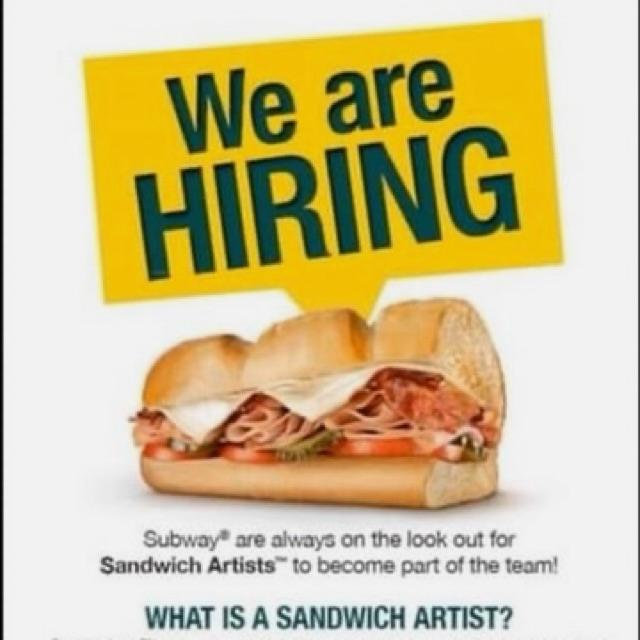 Sandwich Artist Subway