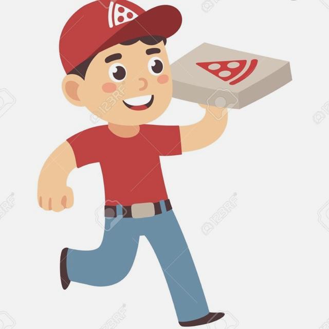 Repartidor de Pizzas a Domicilio