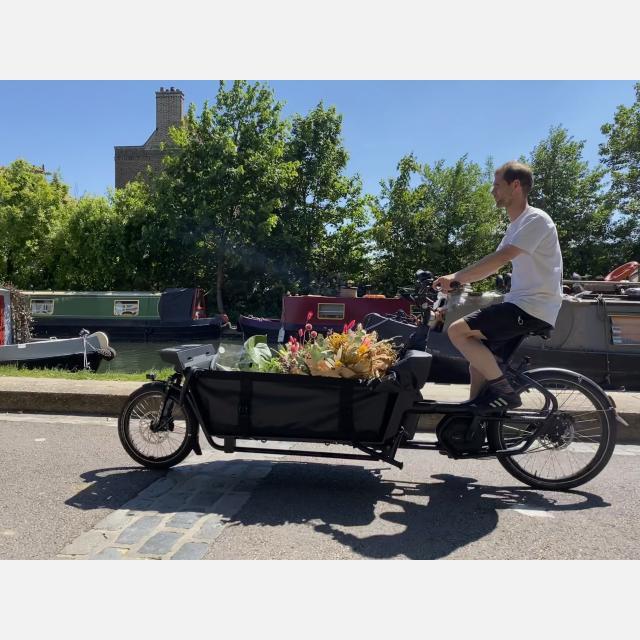 Cargo Bike Rider