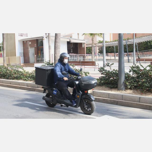 Repartidor/a en Moto fines de semana