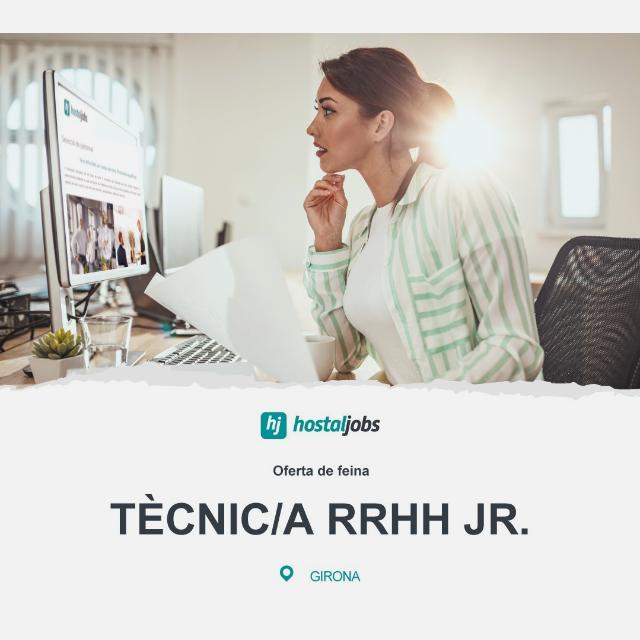 TÈCNIC/A RRHH - Hostaljobs