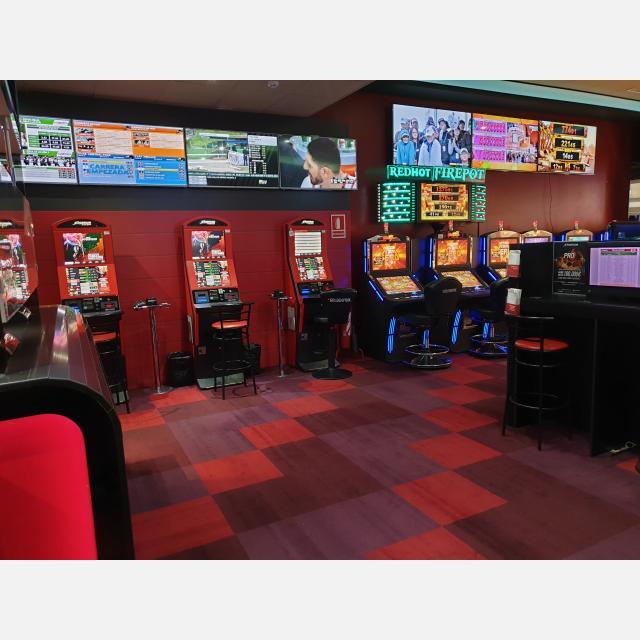 Monitores salón de juego y apuestas deportivas
