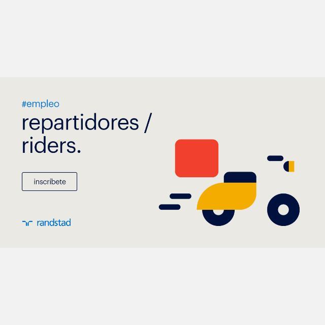REPARTIDORES RIDERS CON MOTO MAJADAHONDA Y LAS ROZAS