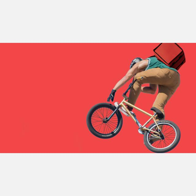 FULL-TIME DELIVERY RIDERS IN LONDON WITH GREAT BENEFITS
