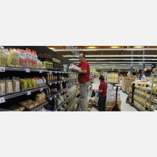 Cajero/reponedor de supermercado con DISCAPACIDAD