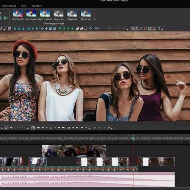 Editor de vídeos y diseñador