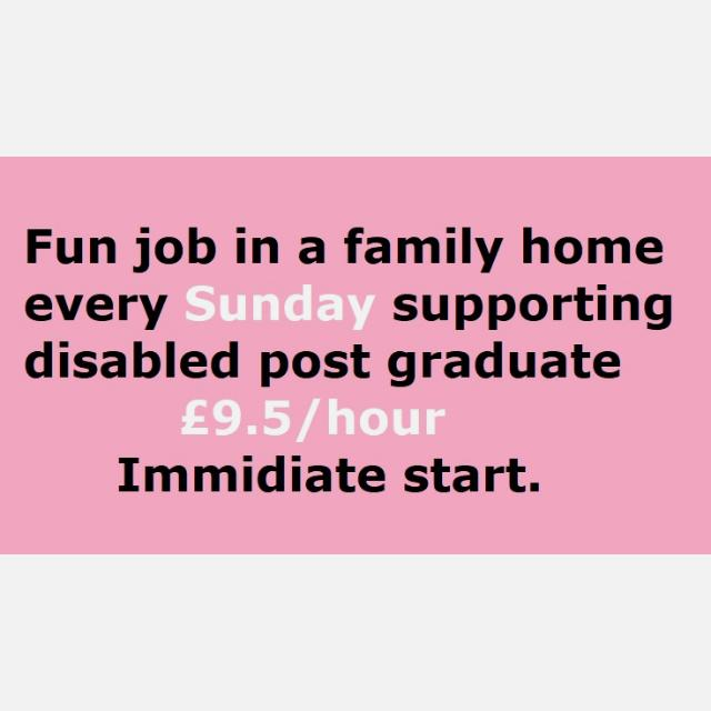 Personal Assistant/ Carer