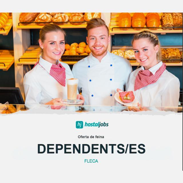 DEPENDIENTA DE PANADERIA Y CAFETERÍA