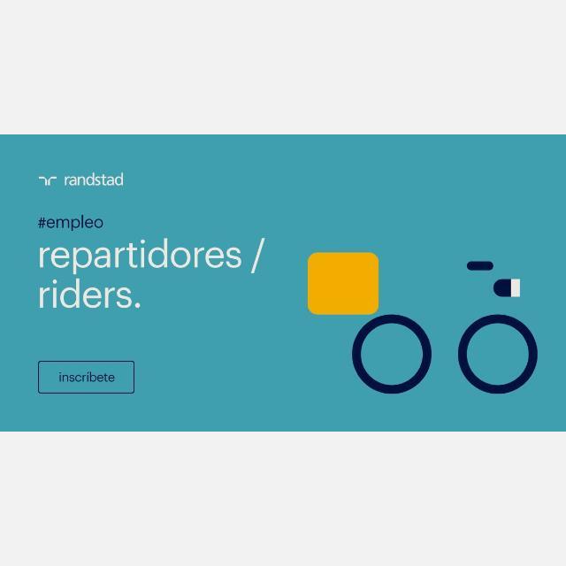 repartidor/a con vehiculo PROPIO 21H jueves - domingo