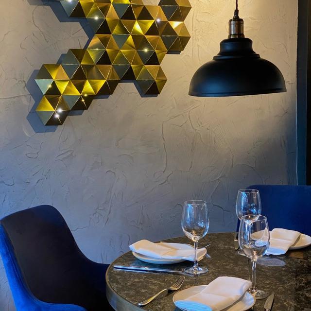 Grill Chef in Turkish fine dining restaurant