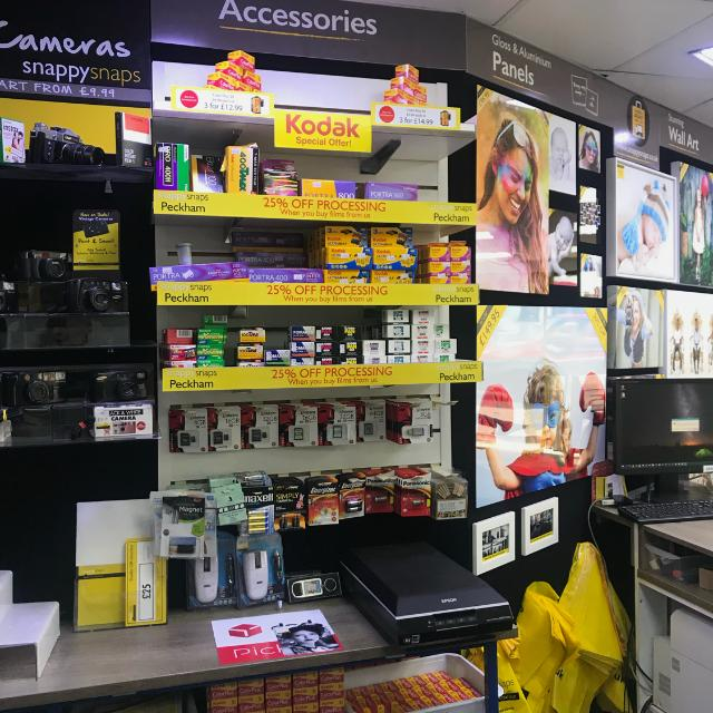 Snappy Snaps retail shop assistant