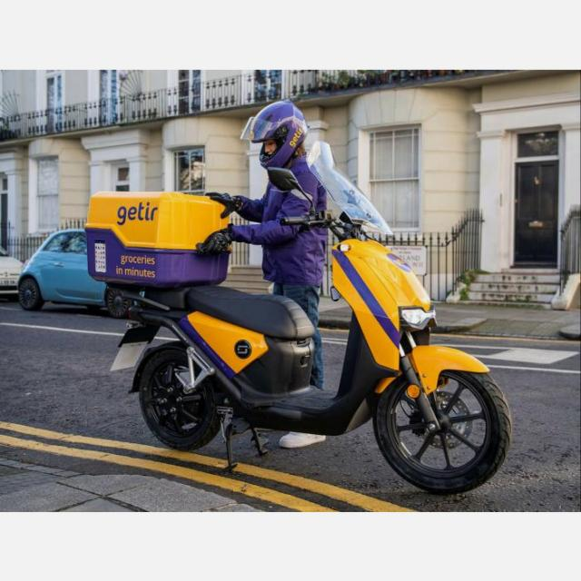 E-Motorcycle Courier