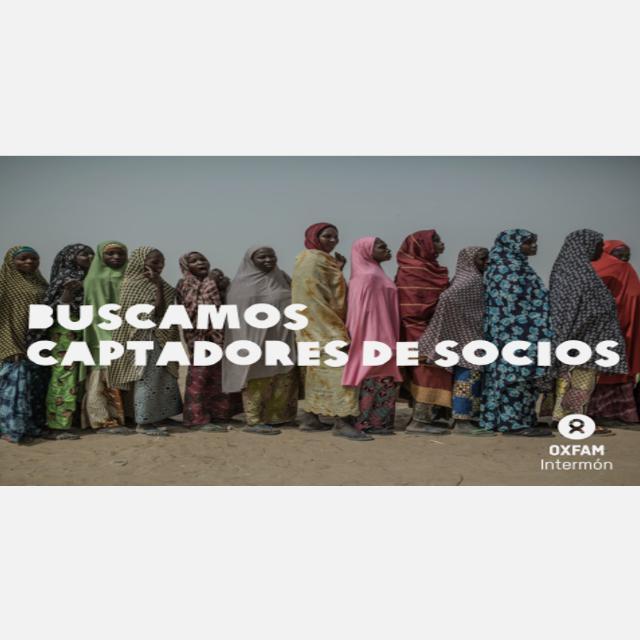 Únete al Equipo de captación de la ONG Oxfam Intermón en BARCELONA
