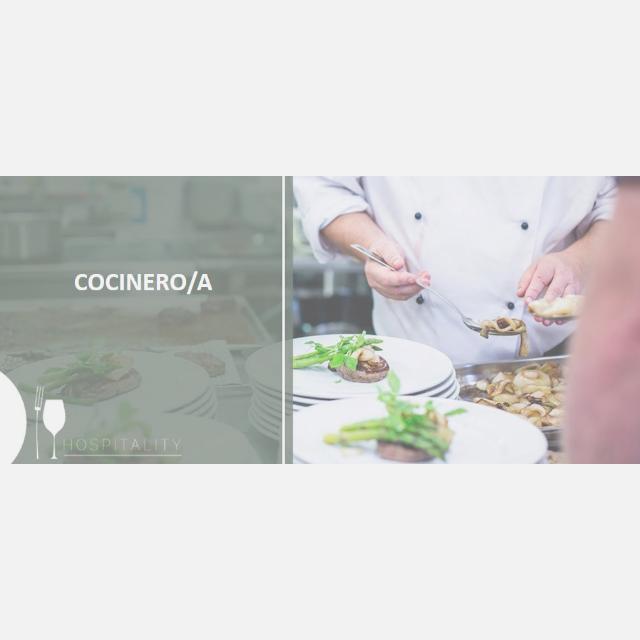 Cocinero/a con experiencia en franquicias Americana