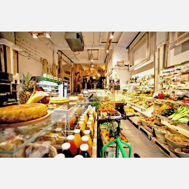 Dependiente de tienda gastronómica Vegana y Vegetariana