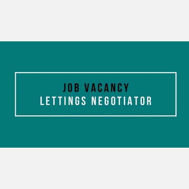 Lettings Negotiator