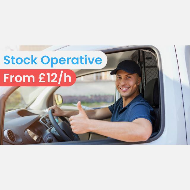 Stock Operative - Driving license required