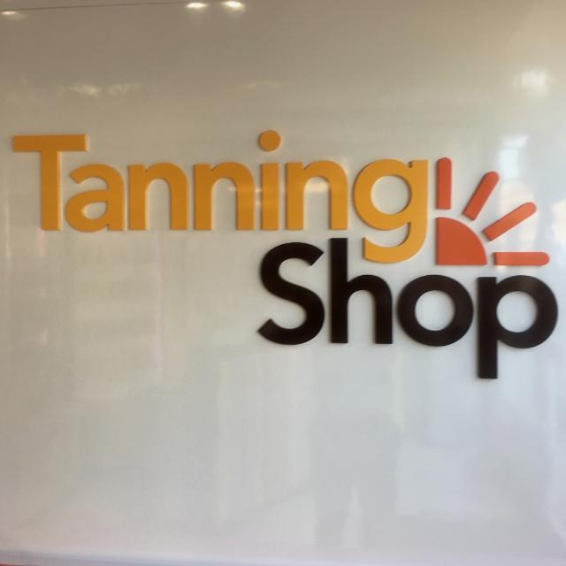 Working for the tanning shop