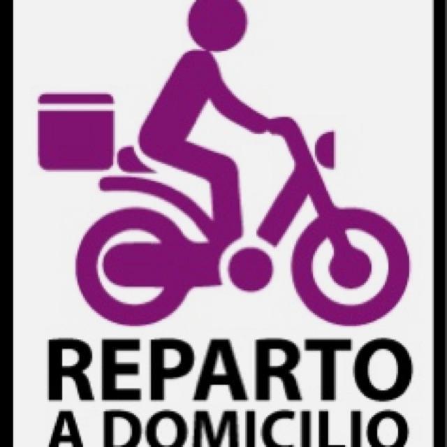 Reparto a Domicilio moto empresa