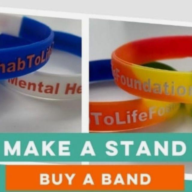 Charity wriste band seller