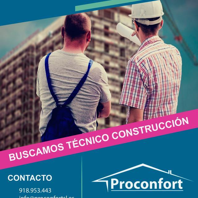 TECNICO DE CONSTRUCCION