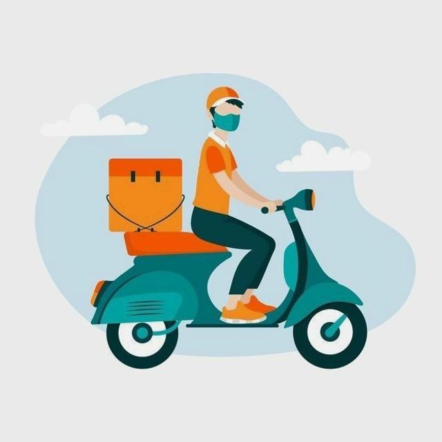 Repartidor/a en Ciclomotor