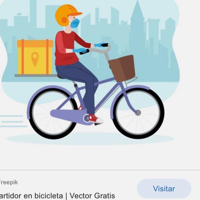 Repartidor/a en bici