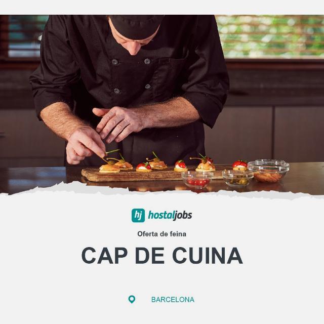 CAP DE CUINA / JEFE DE COCINA - Restaurant