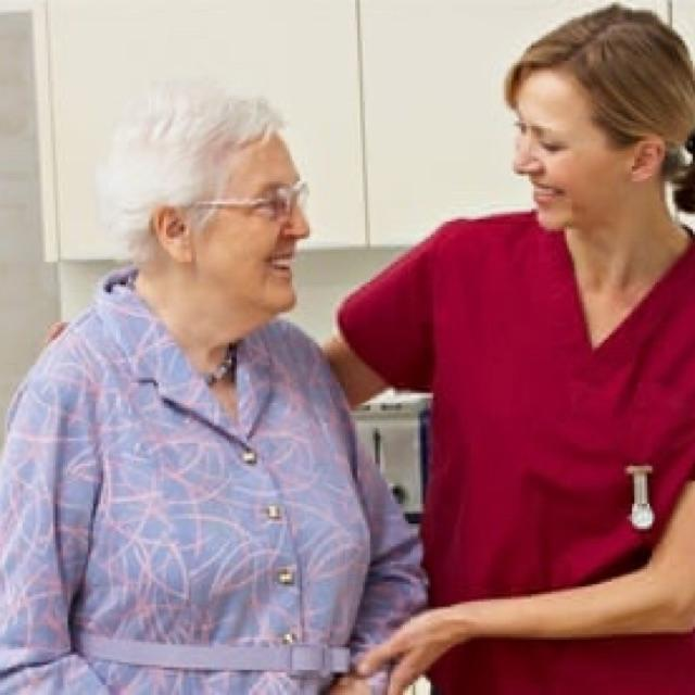 Care assistant in Nursing home
