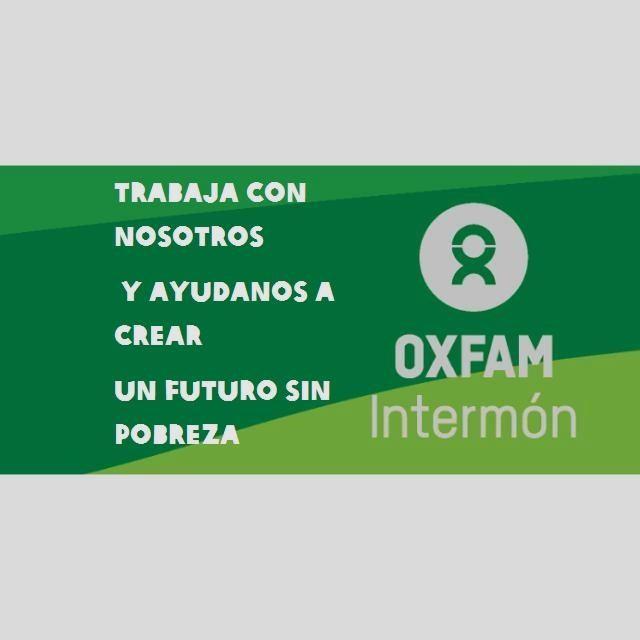 Únete al equipo de Captación de Socios de OXFAM INTERMON en ALICANTE