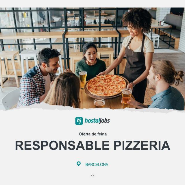 Responsable de Sala - Pizzeria