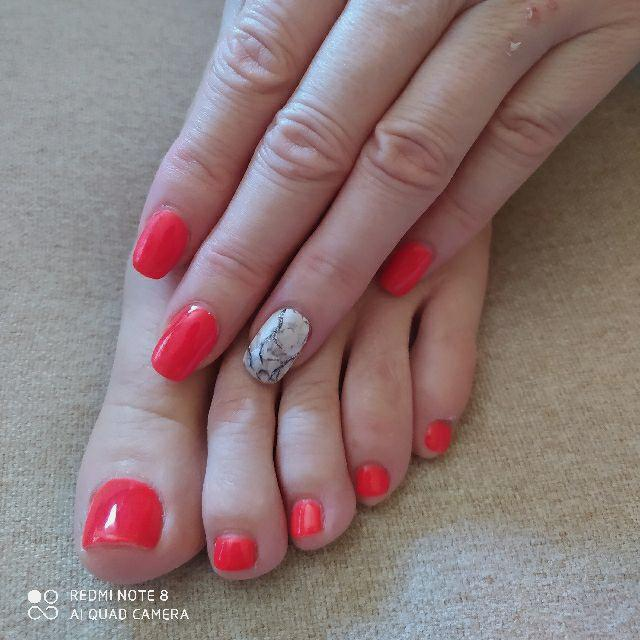 Esteticista y uñas