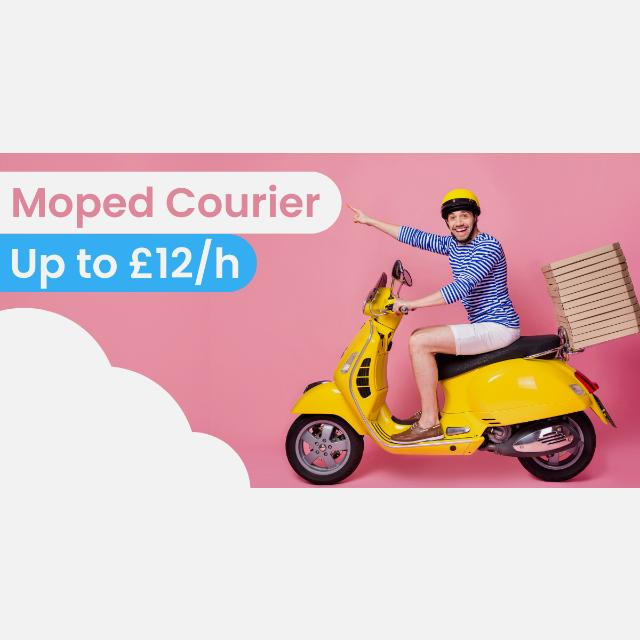 Moped Delivery Courier