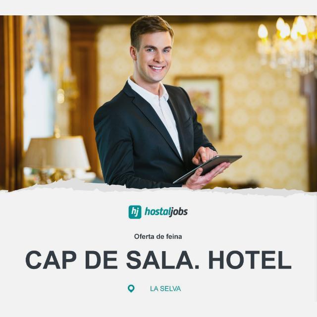 Cap de sala / Maître - Hotel