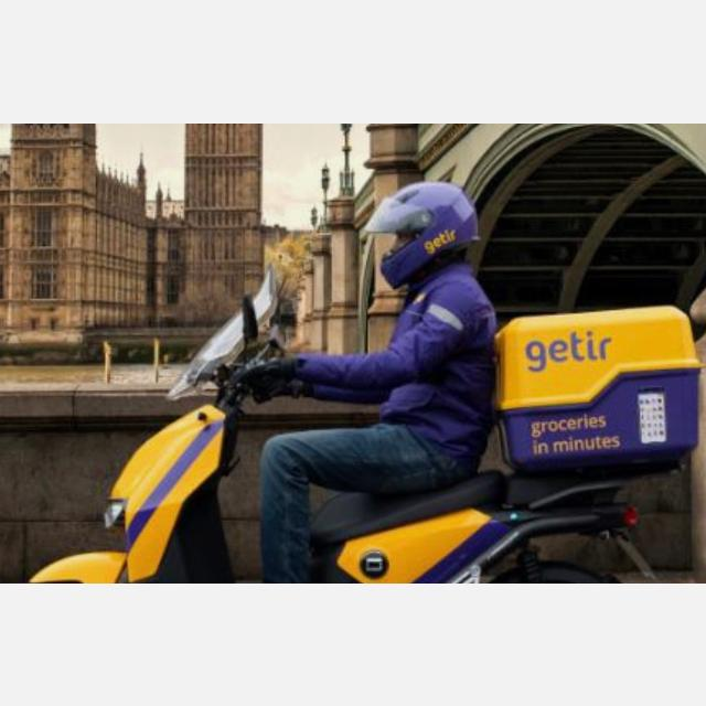 E-Motorcycle courier (Bristol)