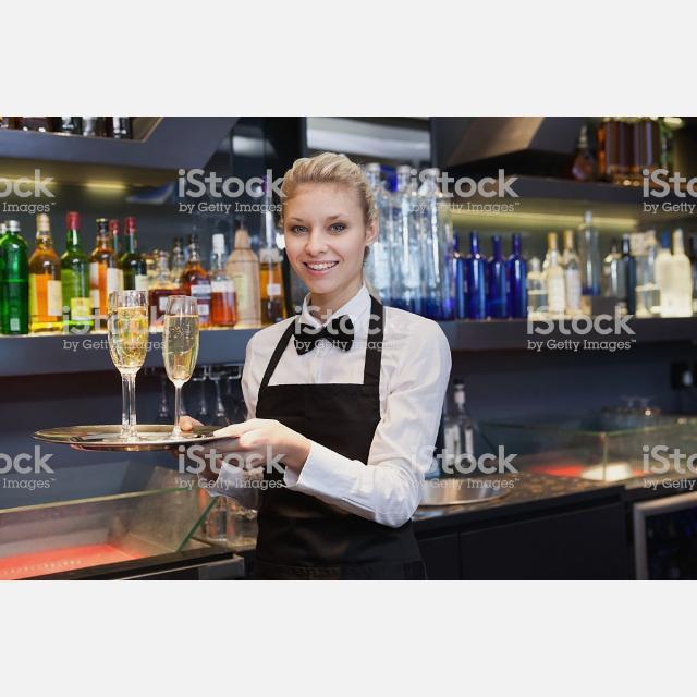 Camarer@s de Copas Para Restaurante de Lujo en LA MORALEJA