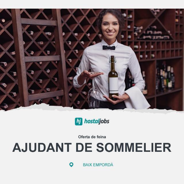 AJUDANT de SOMMELIER - Restaurant