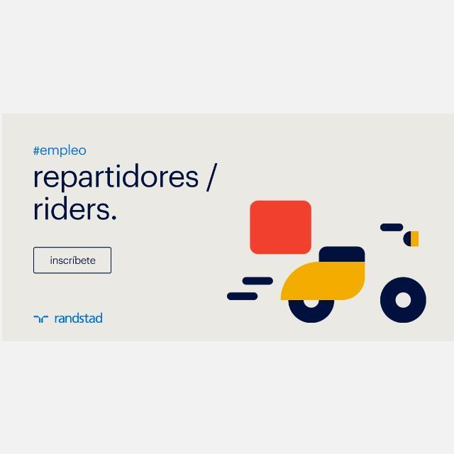 REPARTIDORES/RIDERS CON MOTO MADRID CENTRO