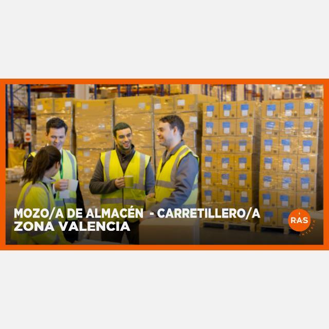 MOZO/A DE ALMACÉN - CARRETILLERO/A