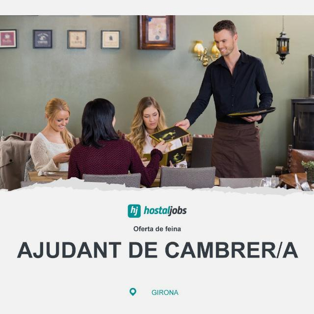 AJUDANT DE CAMBRER - Restaurant