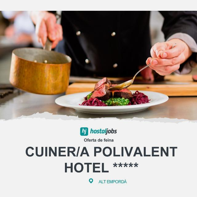 Cuiner/a polivalent - Figueres
