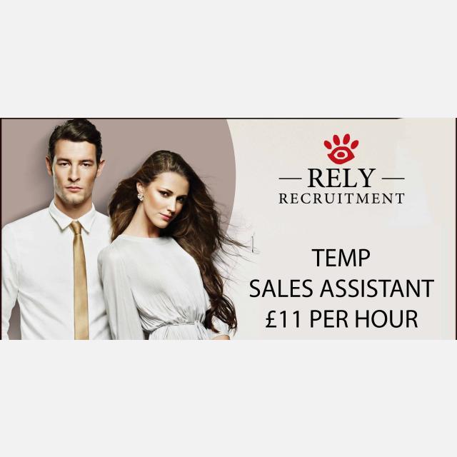 Luxury Retail Temp Sales Assistant