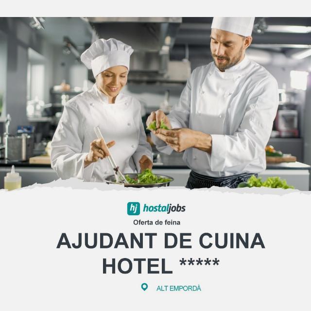 Ajudant de cuina polivalent - Figueres