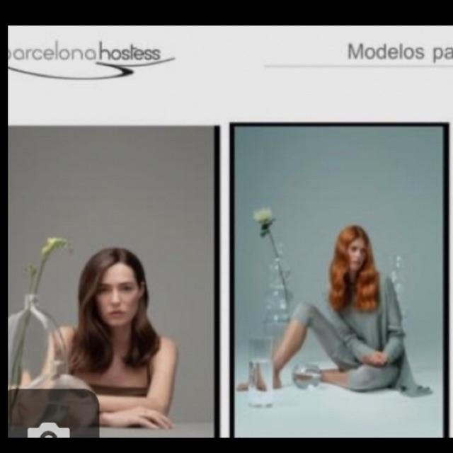 Modelo de peluqueria para color sin amoniaco