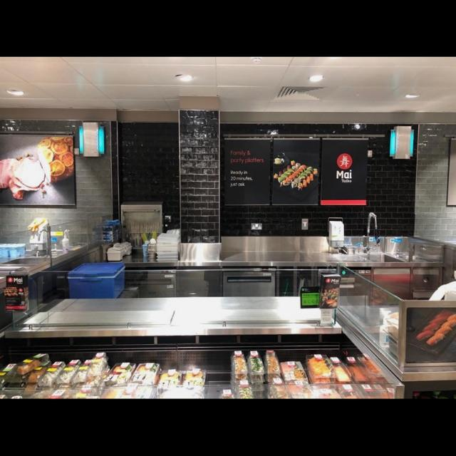 Sushi Chef and Kiosk Manager