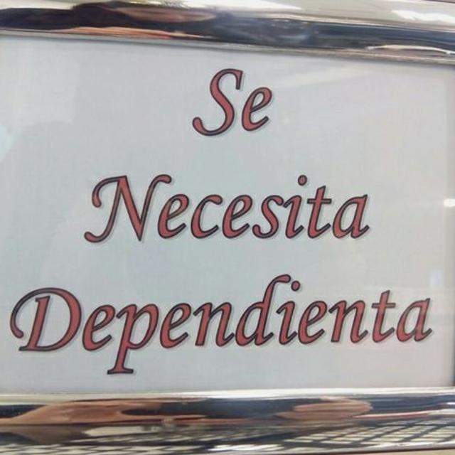Dependiente/a de Tienda